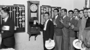 Bygone Era of the punch clock
