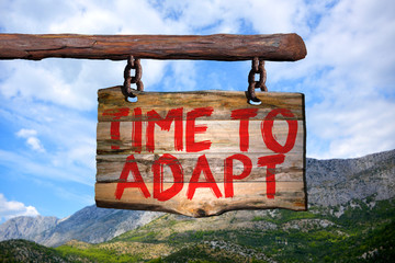 Adapting To Change Is Not Easy, But Is Necessary For Growth